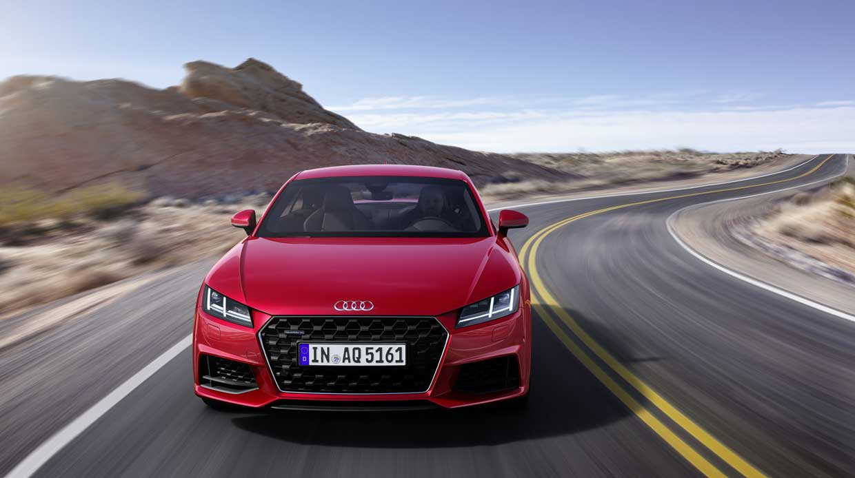 2019 audi tt roadster and tt coupe gets a modest refresh 95 octane. Black Bedroom Furniture Sets. Home Design Ideas
