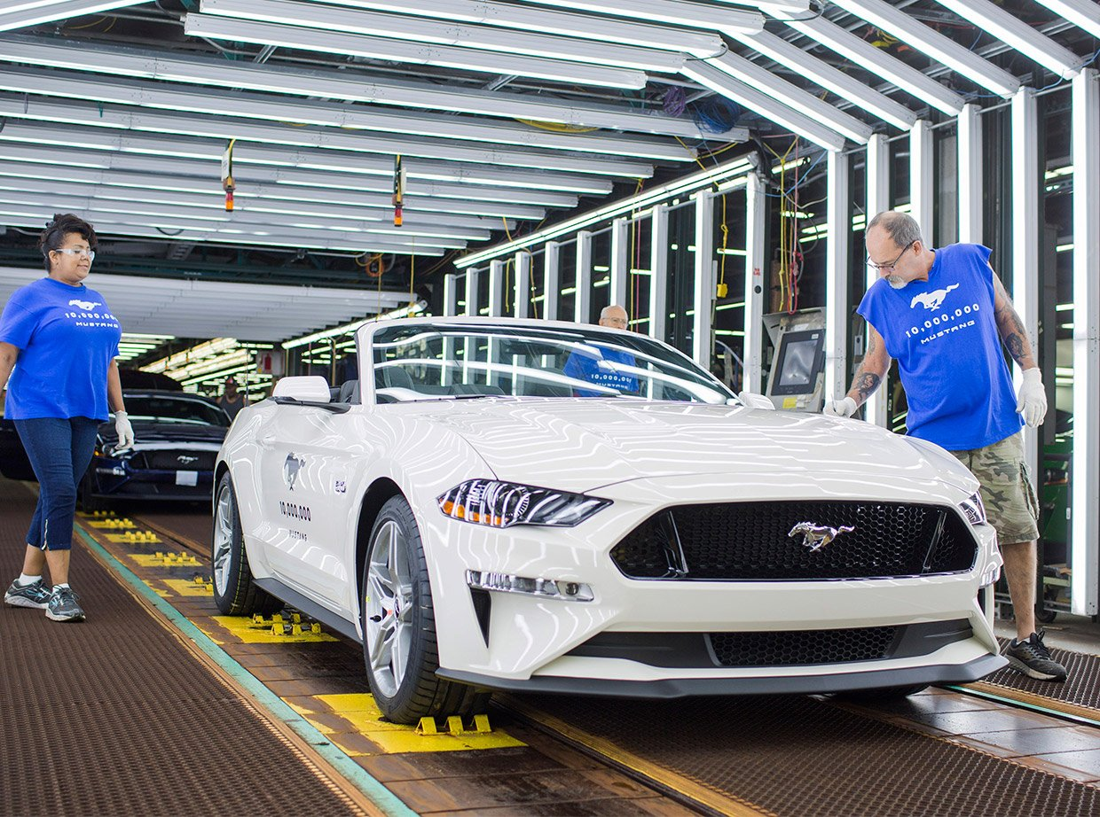10 Millionth Ford Mustang Rolls off the Assembly Line