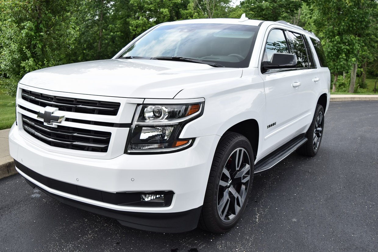2018 chevy tahoe rst review a white knight with black. Black Bedroom Furniture Sets. Home Design Ideas