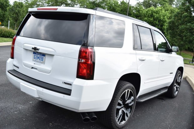 2018 Chevy Tahoe RST Review: A White Knight with Black Trim