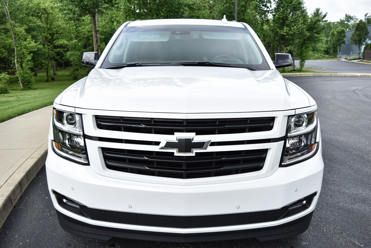 2018 Chevy Tahoe Rst Review A White Knight With Black Trim