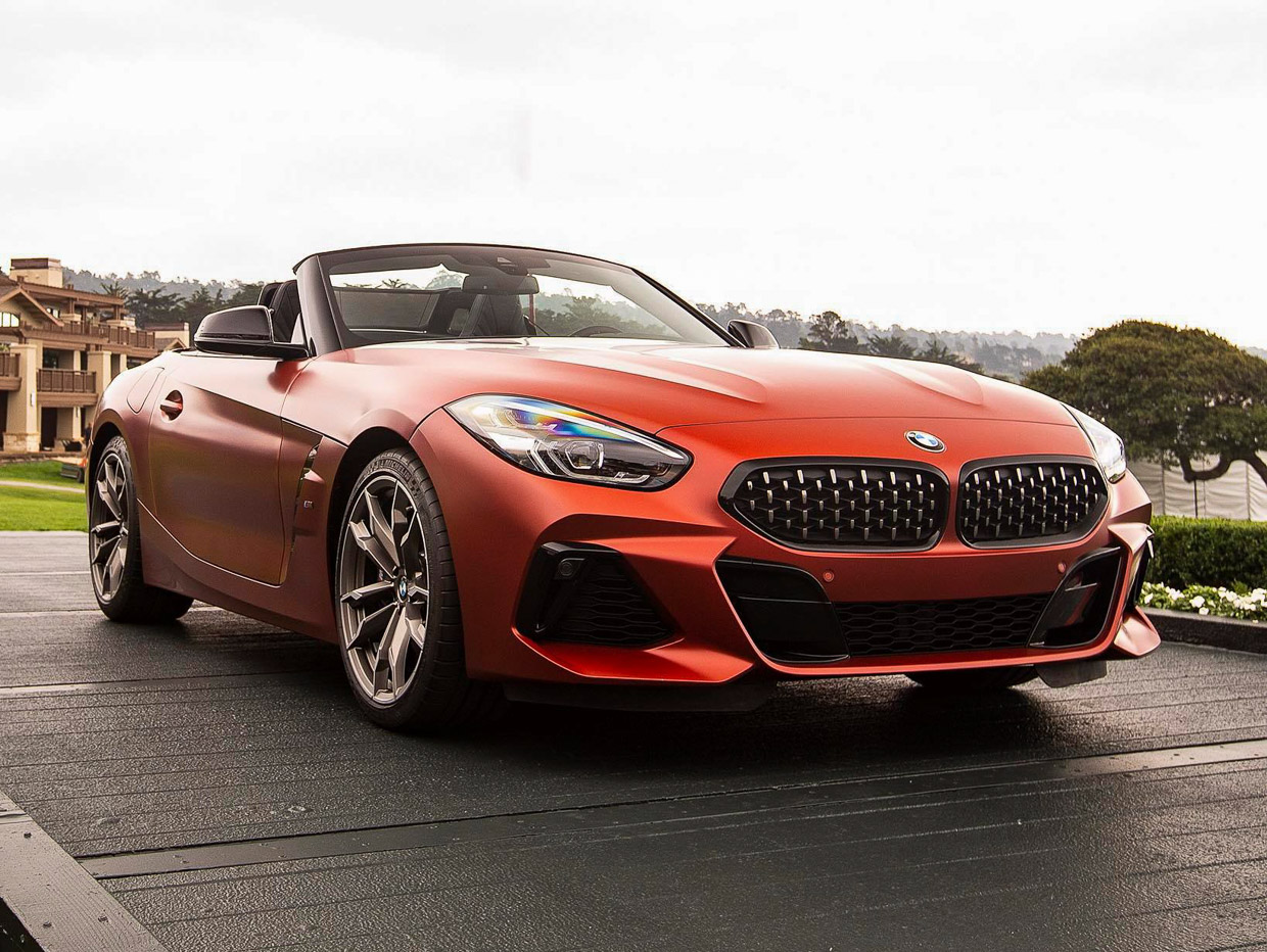 2019 bmw z4 m40i gets official with first edition 95 octane. Black Bedroom Furniture Sets. Home Design Ideas