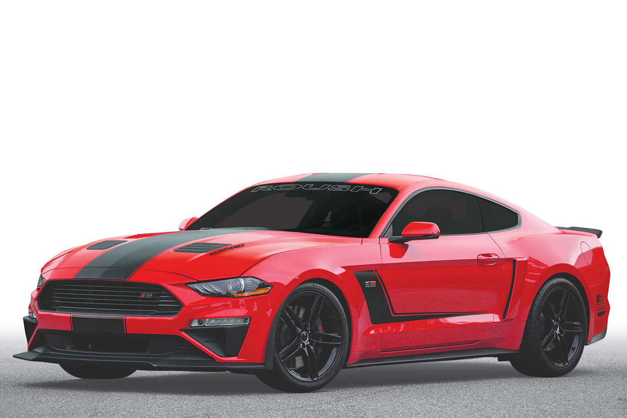 2019 Roush Stage 3 Mustang Adds Loads Of Power 95 Octane