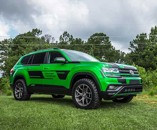 APR-modded VW Atlas Wants to Play in the Mud