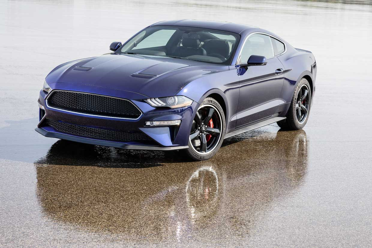 This One-of-a-Kind Kona Blue 2019 Bullitt Mustang Could be Yours