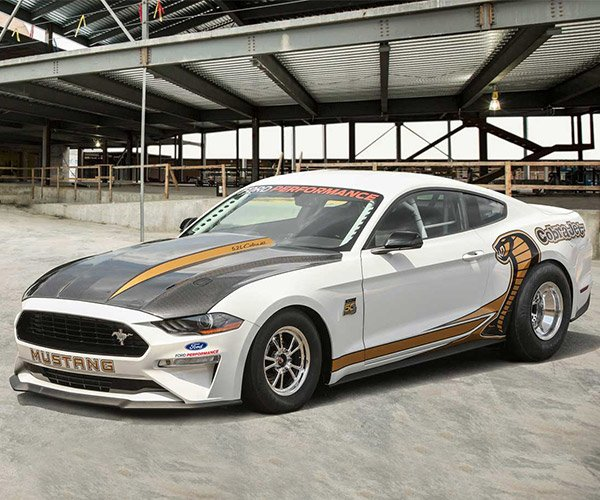 2018 Ford Mustang Cobra Jet Drag Racer Good for the Mid-8s