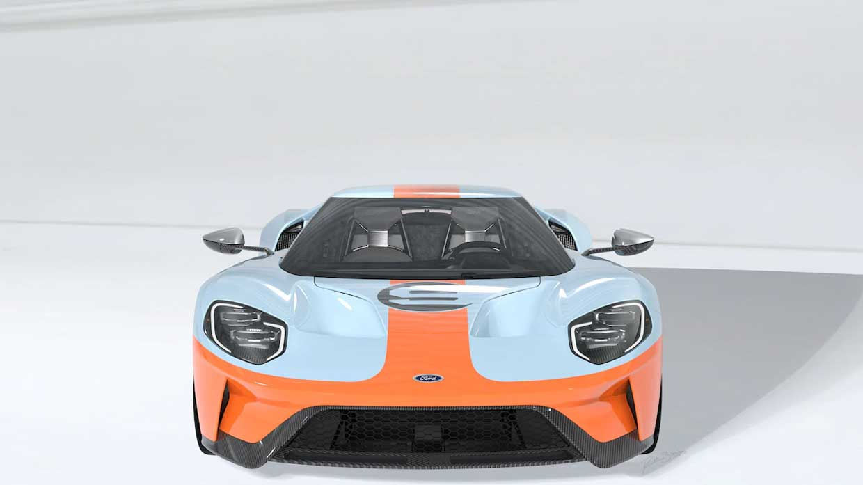 Will Be Making A  Heritage Edition Car And The Car Will Wear Perhaps The Most Iconic Of The Racing Liveries That Of The Blue And Orange Gulf Cars