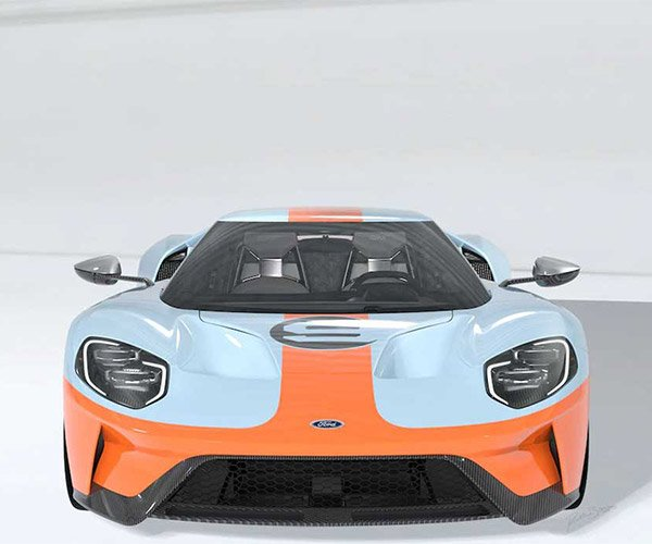 2019 Ford GT Heritage Edition Slathered in Sexy Gulf Livery