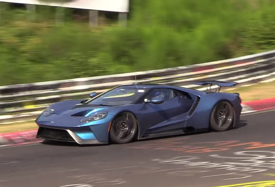 Why Is Ford Lapping The Ring In A  Ford Gt