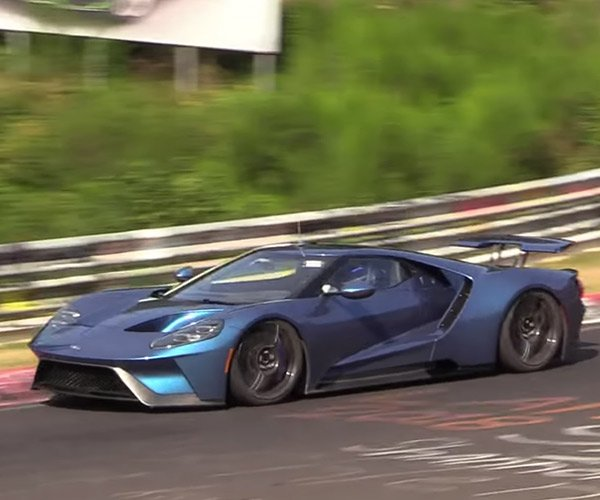 Why is Ford Lapping The Ring in a 2018 Ford GT?