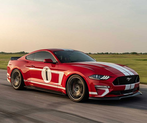 2019 Hennessey Heritage Edition Mustang Packs over 800 hp