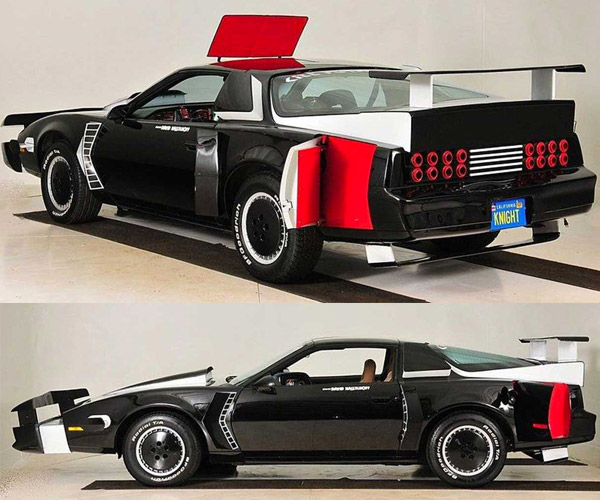 Knight Rider KITT Pursuit Car Heads to Auction