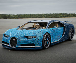 LEGO Builds Full-Size Bugatti Chiron… and It Actually Drives!