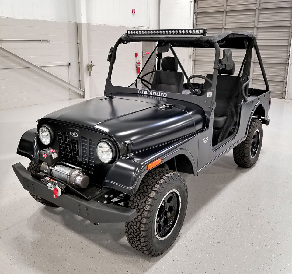 Jeep Wants to Roll Over the Mahindra Roxor