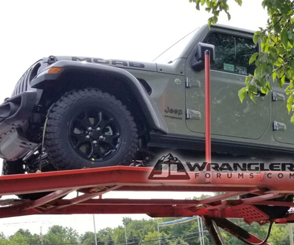 Could This be the First Jeep Wrangler JL Special Edition?