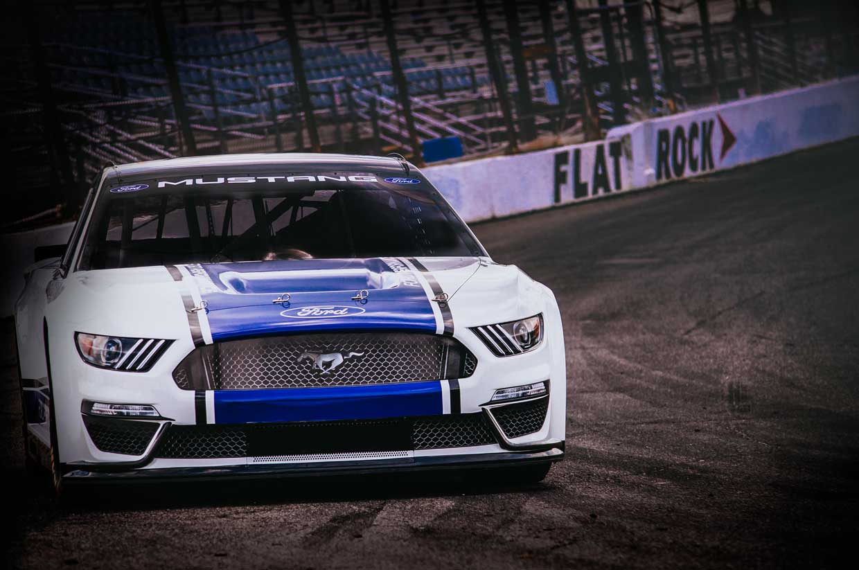 Ford Mustang NASCAR Racer Actually Looks Like a Mustang