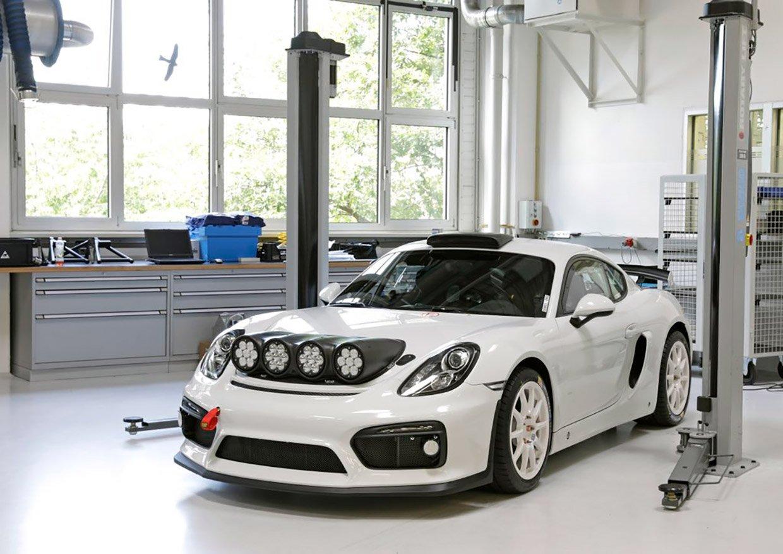 Porsche Cayman GT4 Clubsport Rallye Concept Wants to Race