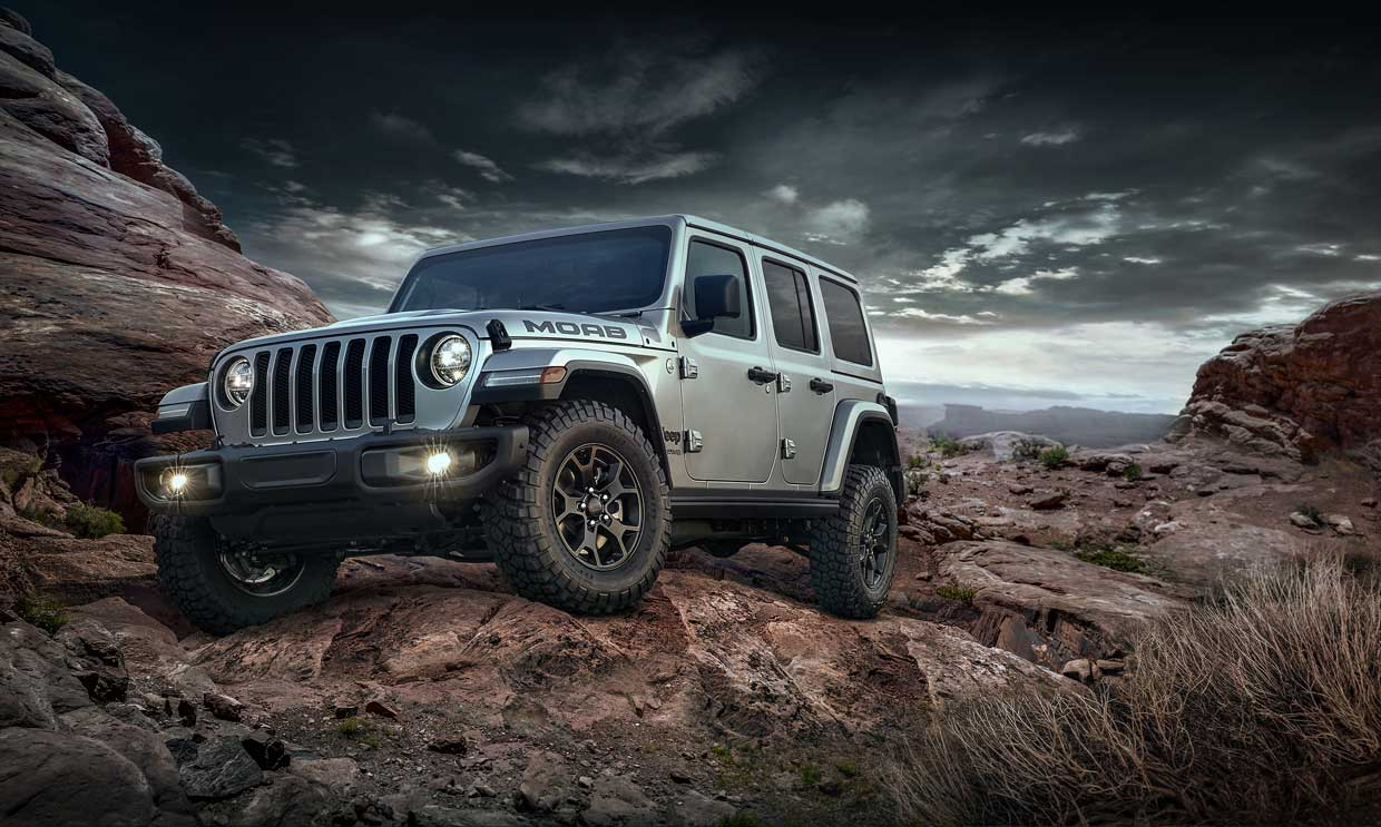 Jeep Confirms 2018 Wrangler JL Moab