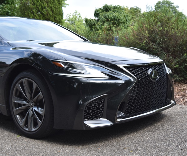 2018 Lexus LS 500 F Sport Review: Big on Style, Power, and Luxury
