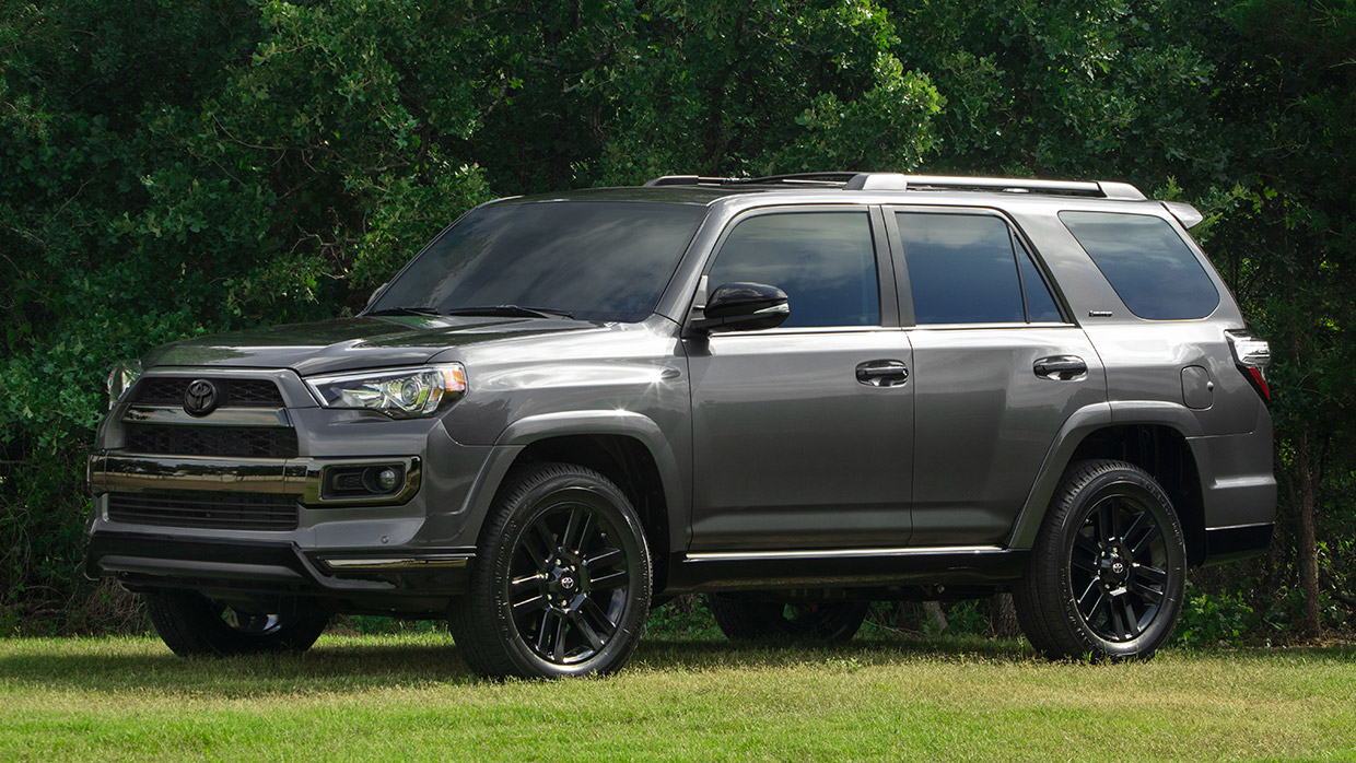 2019 Toyota 4runner Nightshade Edition The Dark Night 95 Octane