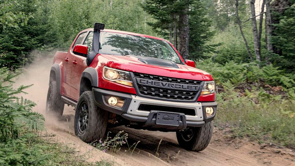 2019 Chevy Colorado Bison Packs Skid Plates and Steel Bumpers
