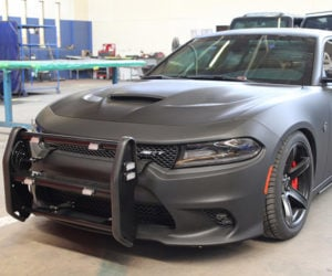 Armored AWD Dodge Charger Hellcat Is the Lead Foot of the Law
