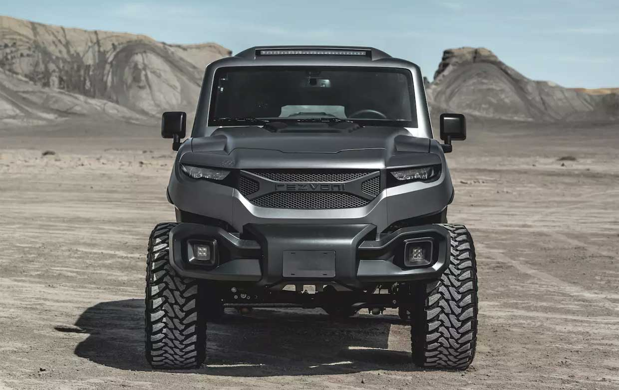 Rezvani Tank X Gets a Hellcat V8 and Big Price Tag to Go with