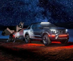 Nissan Navara Dark Sky Concept Is an Observatory on Wheels