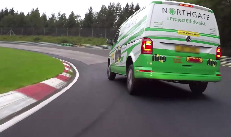 Race Driver Takes Rental Van to Nürburgring to Break a Record