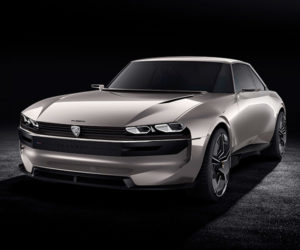 The Peugeot e-Legend Is a Fantastic Flashback Packing Modern Tech
