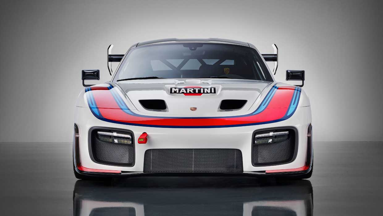 Porsche 935 is a Clubsport Racer for the Rich