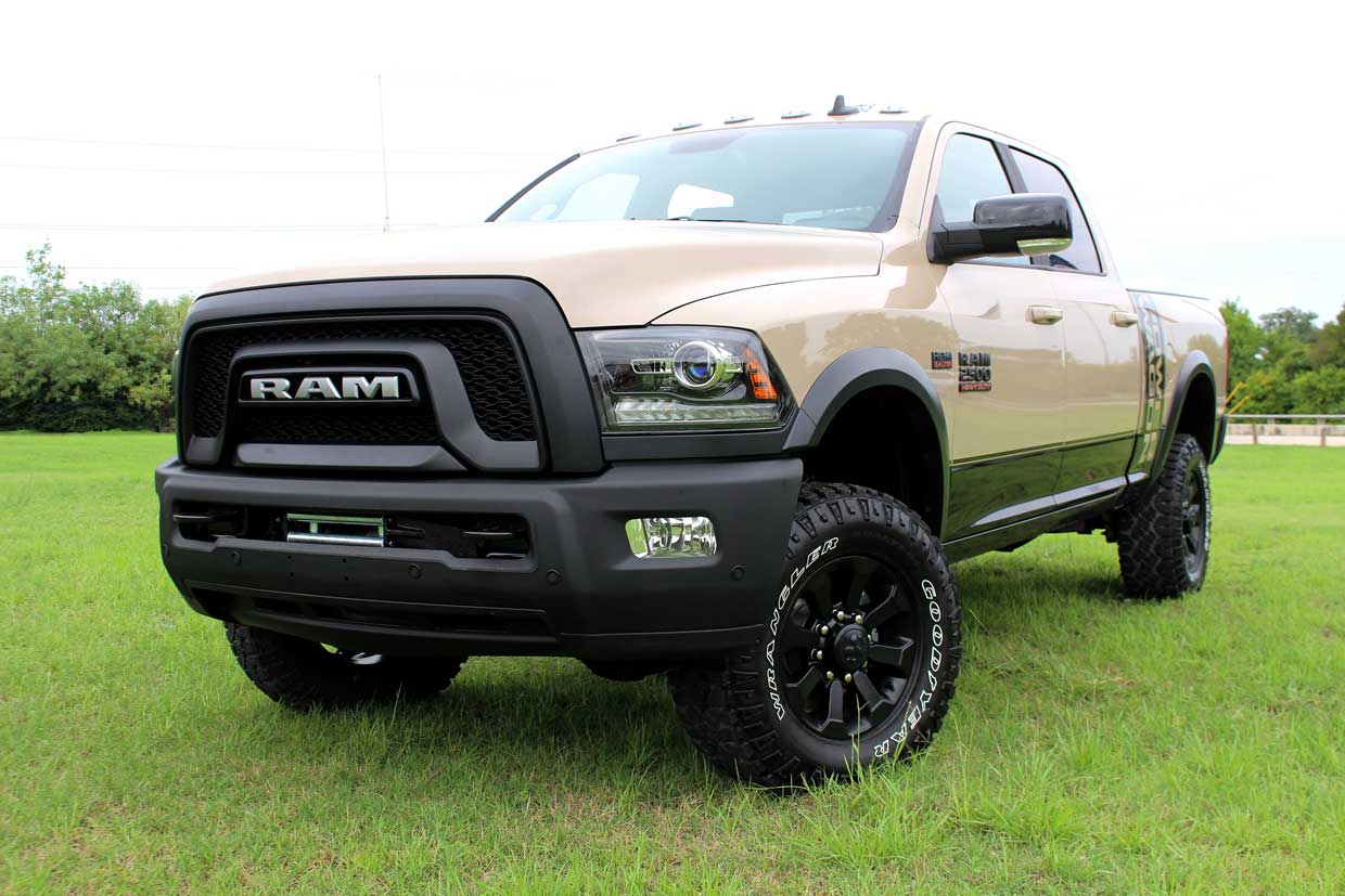2018 Ram Power Wagon Mojave Sand Edition Ready to Hit the Trails
