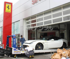 Typhoon Jebi Destroys 51 Ferraris: Oh the Humanity!