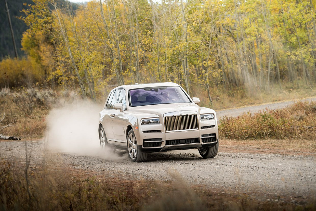 2019 Rolls-Royce Cullinan First Drive Review: Luxury Way Out There