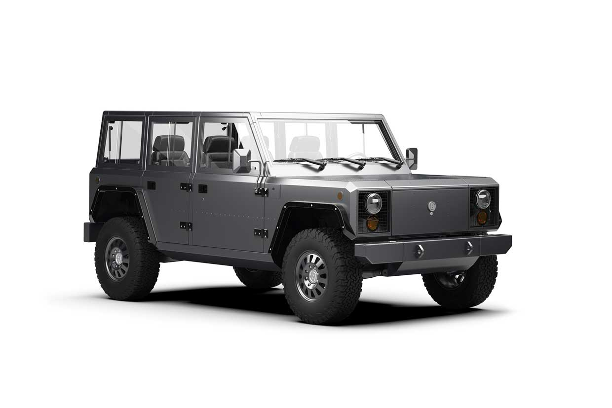 Bollinger Motors B2 Is a Boxy, All-electric Pickup Truck