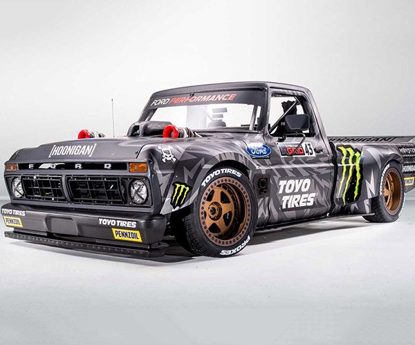 1977 Ford F-150 Hoonitruck is Ken Block's Latest Ride