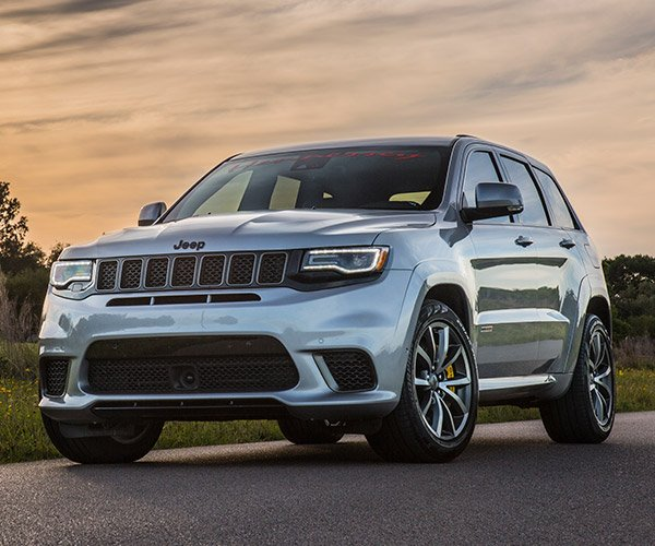 Hennessey Jeep Grand Cherokee Trackhawk Does 1/4-mile in the 9s