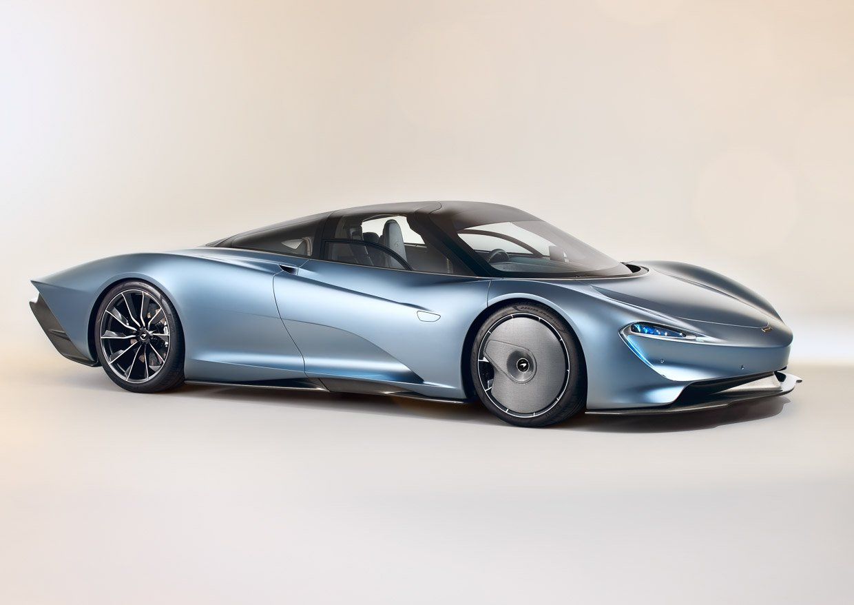 McLaren Speedtail Is a 3-Seat, 1000+ hp Hybrid GT Car