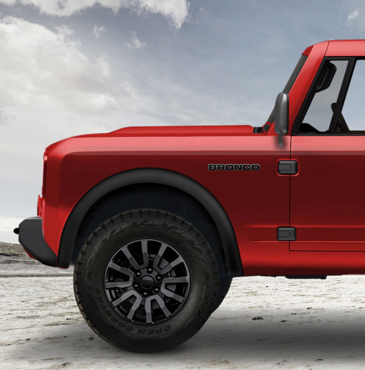 New Ford Bronco May Get a 7-Speed Manual Transmission