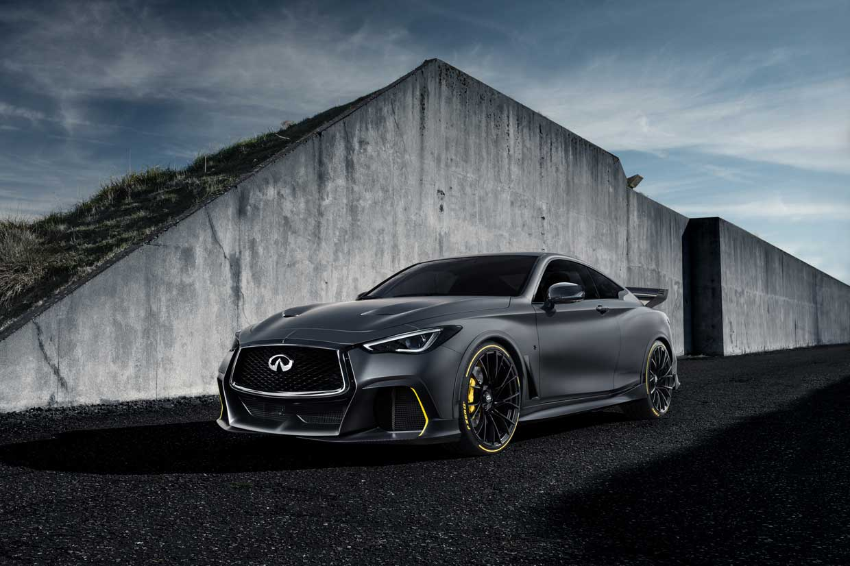 Infiniti Project Black S Prototype Uses F1 Hybrid Tech