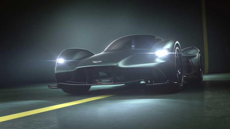 Aston Martin Valkyrie Wails Like the Epic F1 Cars that Were