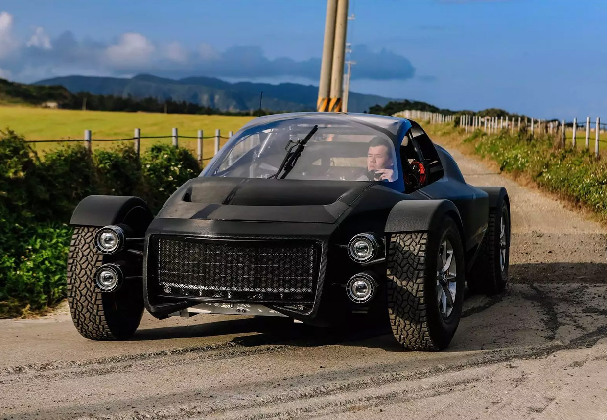 Xing Miss R is a 1300+ hp EV for Track or Off-road