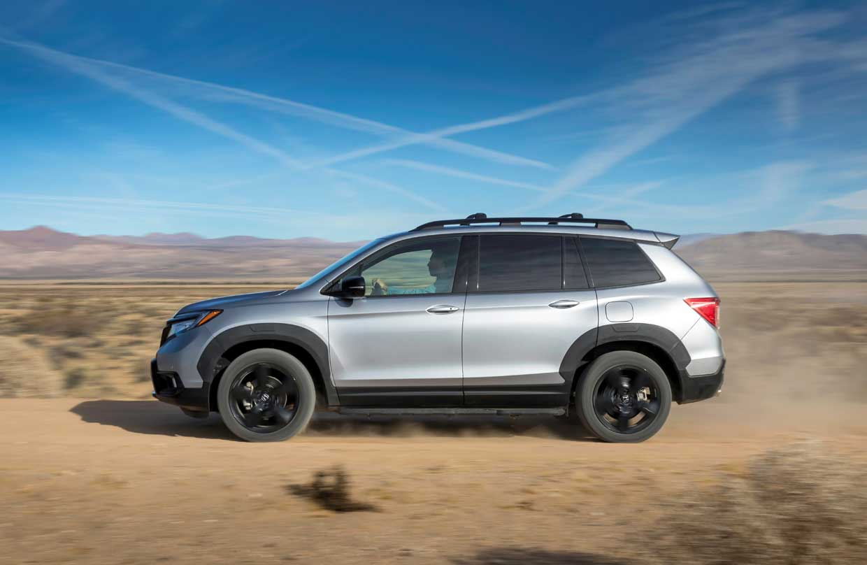 2019 Honda Passport Hauls 5 People And Gear Off Road And On