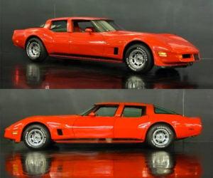 1980 Corvette 4-Door for Sale: Big 'Ol Red Corvette