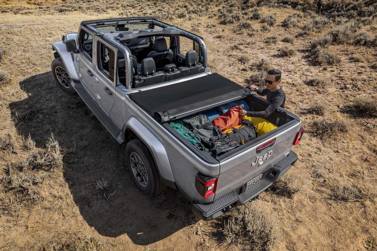 2020 Jeep Gladiator Truck Is A Wrangler Camino
