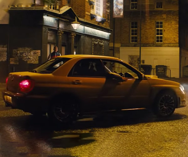 Kingsman Subaru WRX Stunt Car Up for Sale: Perfect for Backseat Drivers