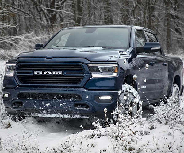 2019 Ram 1500 North Edition Kicks Snow's Butt