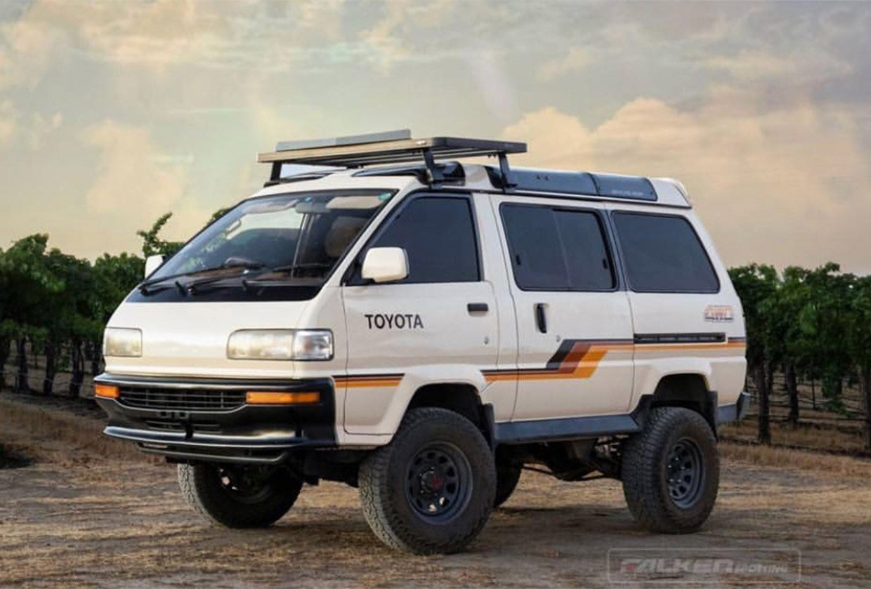 Toyota Mega Ace II Diesel Spaceship Is the Best Minivan Ever