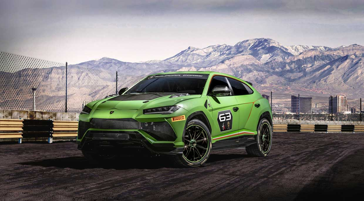 Lamborghini Urus ST-X Concept is a Road Racing SUV Beast
