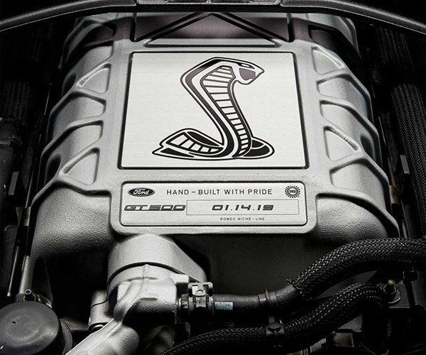 Ford Teases 2020 Mustang GT500 for January 14 Unveiling